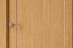 puerta roble lisa